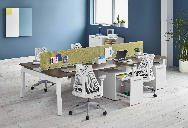 Mobiliário de escritório  e produtividade