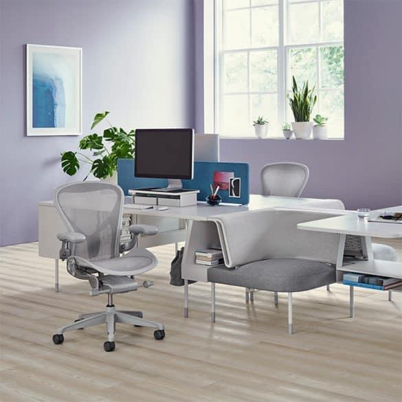 Cadeira de escritório mais famosa - AERON