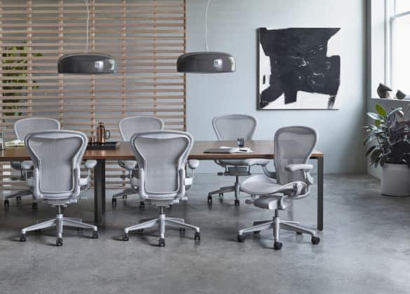 Aeron: Cadeira de Escritorio Ergonómica